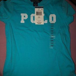 Polo Tee, Size 3T, NWT